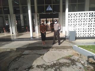 Polisi Berpesan Terhadap Jemaah Di Gereja Tetap Wajib Patuhi Prokes Demi Untuk Terhindari COVID-19