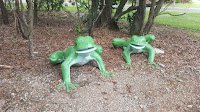 Darwin Public Art | Reggie & Friends at Reggies Park
