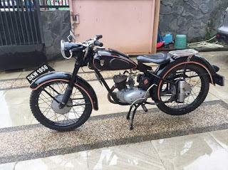 DKW Union 125cc Th56 Standar Ori
