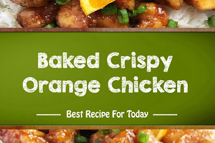 Sweet taste baked crispy chicken