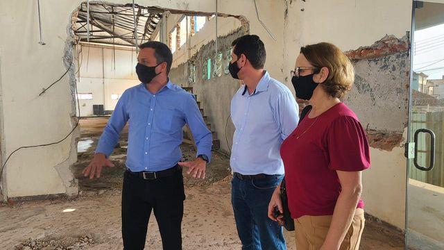 Equipe do Vale do Futuro visita obras do Canal Direto – SP+Perto