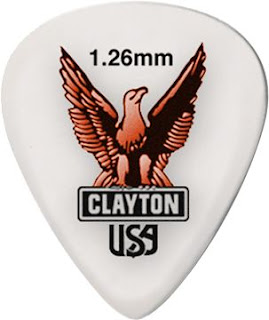 1.26 mm Clayton Guitar Pick