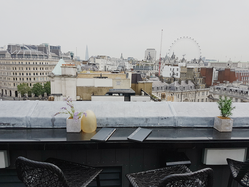 Trafalgar London rooftop bar