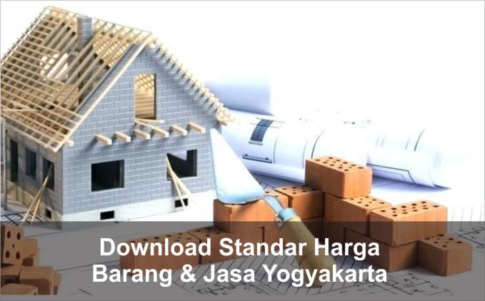 download Standar Harga Barang dan Jasa Yogyakarta 2021