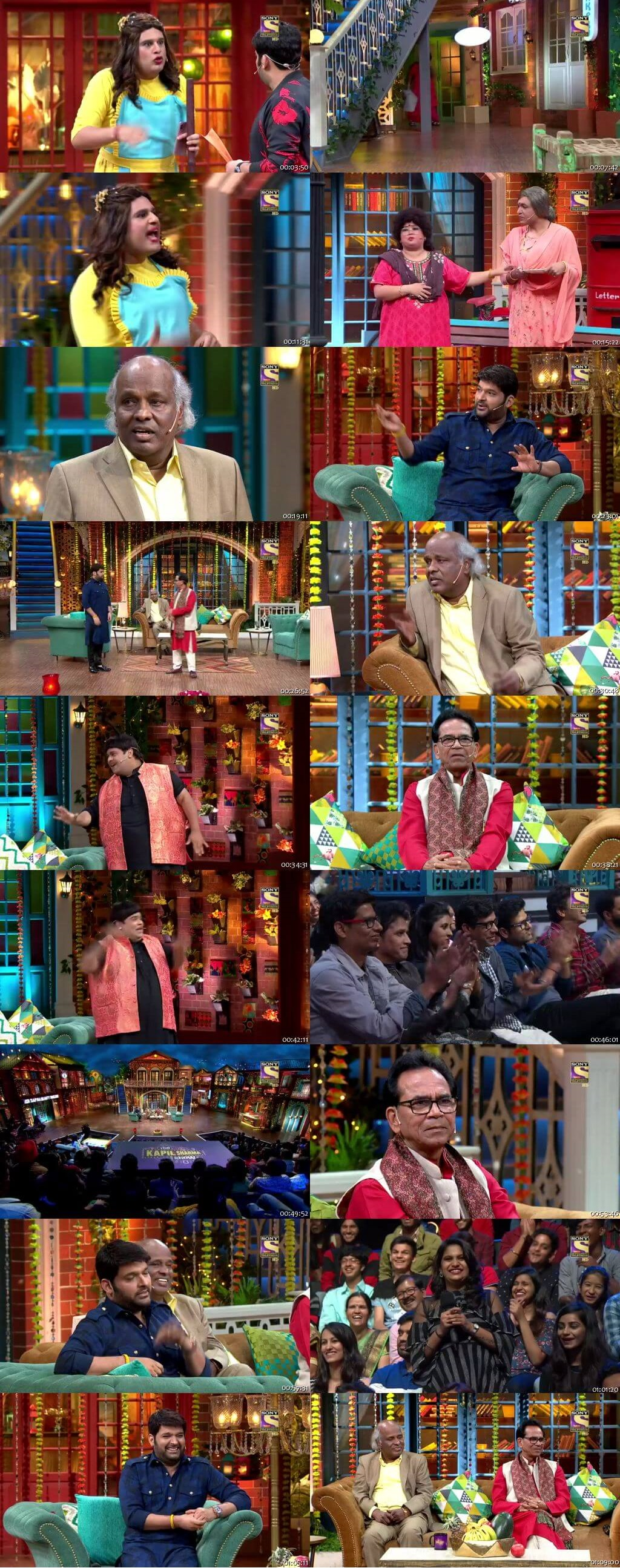 Screen Shot Of The Kapil Sharma Show 21st July 2019 Season 02 Episode 59 300MB Watch Online