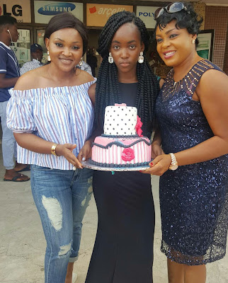 Pictures from Mercy Aigbe Gentry's daughter's birthday
