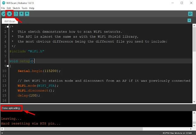 Installing the ESP32 Board add-on in dark Arduino IDE