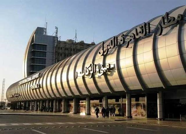 استقبال 315 مصريا من العالقين بالكويت بمطار القاهره