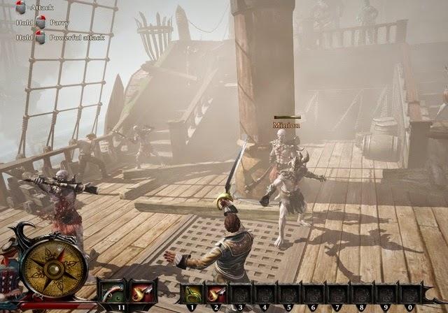 Risen 3 Titan Lords PC Games Gameplay