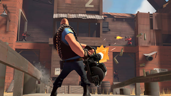 Team Fortress 2 jogo de fps gratis steam