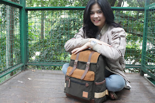 Travel bag Bahan Kanvas