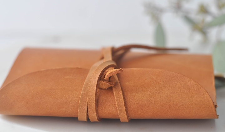 DIY Leather Notebook, makes a special gift for those close to your heart