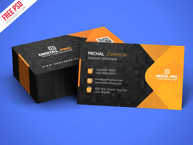 Download corporate business card template free psd free psd now corporate business card template free psd friedricerecipe Choice Image