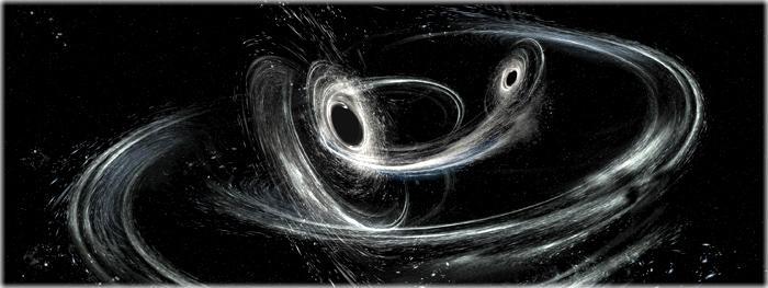 fusão de buracos negros