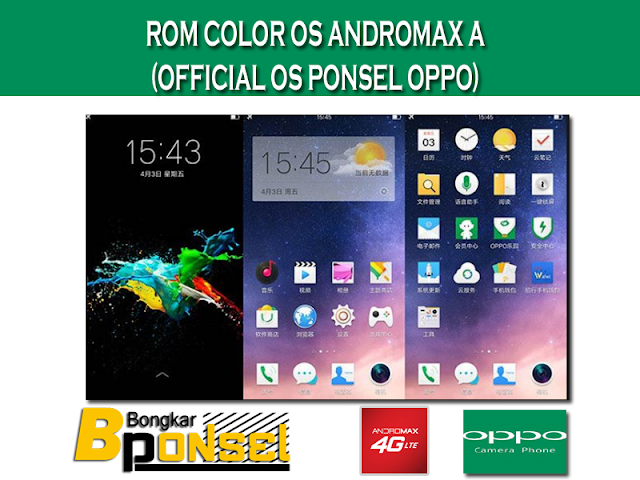 Rom Oppo (ColorOS) Andromax A (UPDATE)