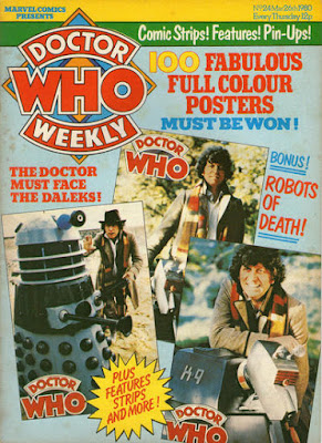 Doctor Who Weekly #24, Daleks, the Robot of Death