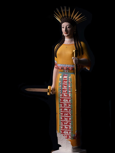 'Gods in Colour: Polychromy in Antiquity' at Liebieghaus Skulpturensammlung, Franfurt
