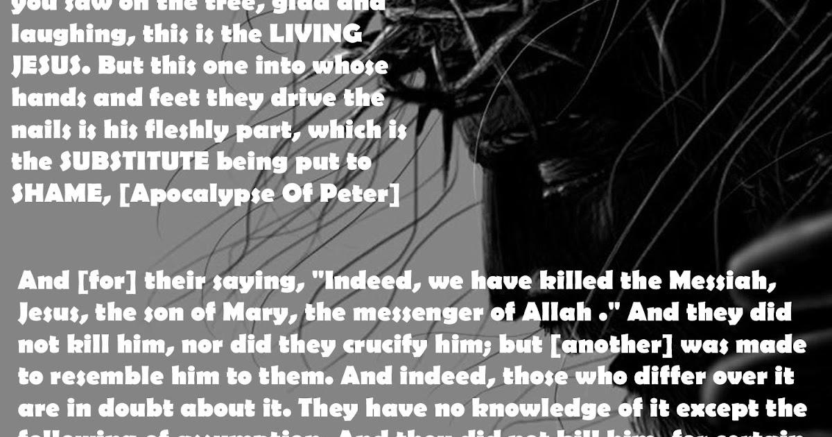 Seeking The Truth: Apocalypse Of Peter Refutes The