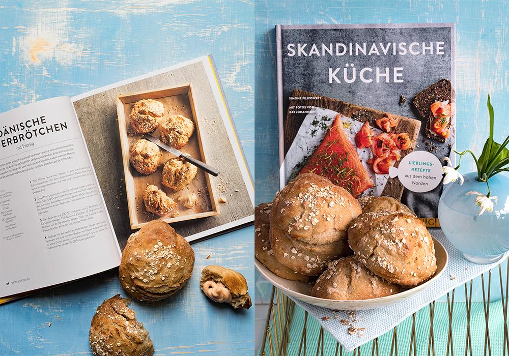 """Schnelle Haferbrötchen aus meinem Buch """"Skandinavische Küche"""""""