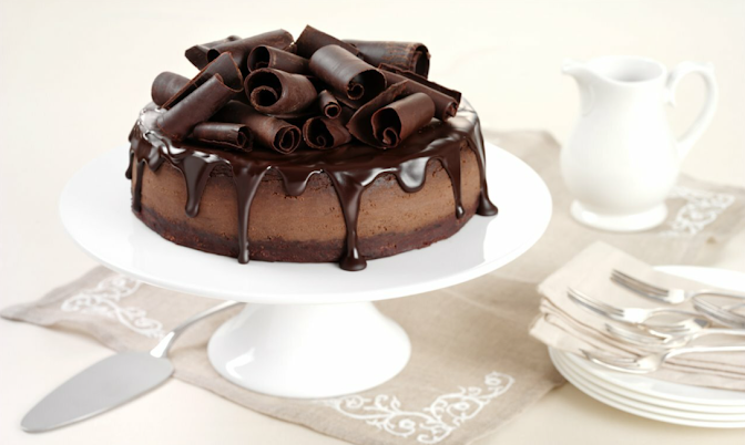 chocolate digestive cheesecake