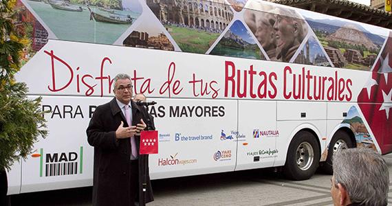 Aumenta un 65% la oferta de Rutas Culturales para mayores de 60 años