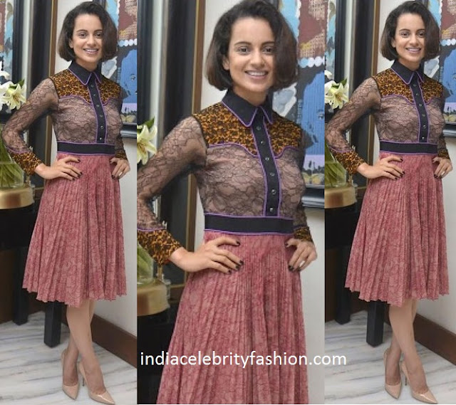Kangana Ranaut in Gucci at manish malhotra's party