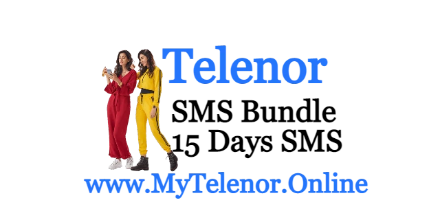 Telenor 15 Day Economy SMS Bundle