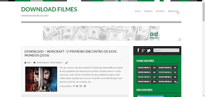 Template Blog Download Filmes Gratis