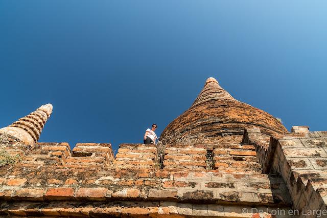 Buledi temple - Bagan - Myanmar - Birmanie