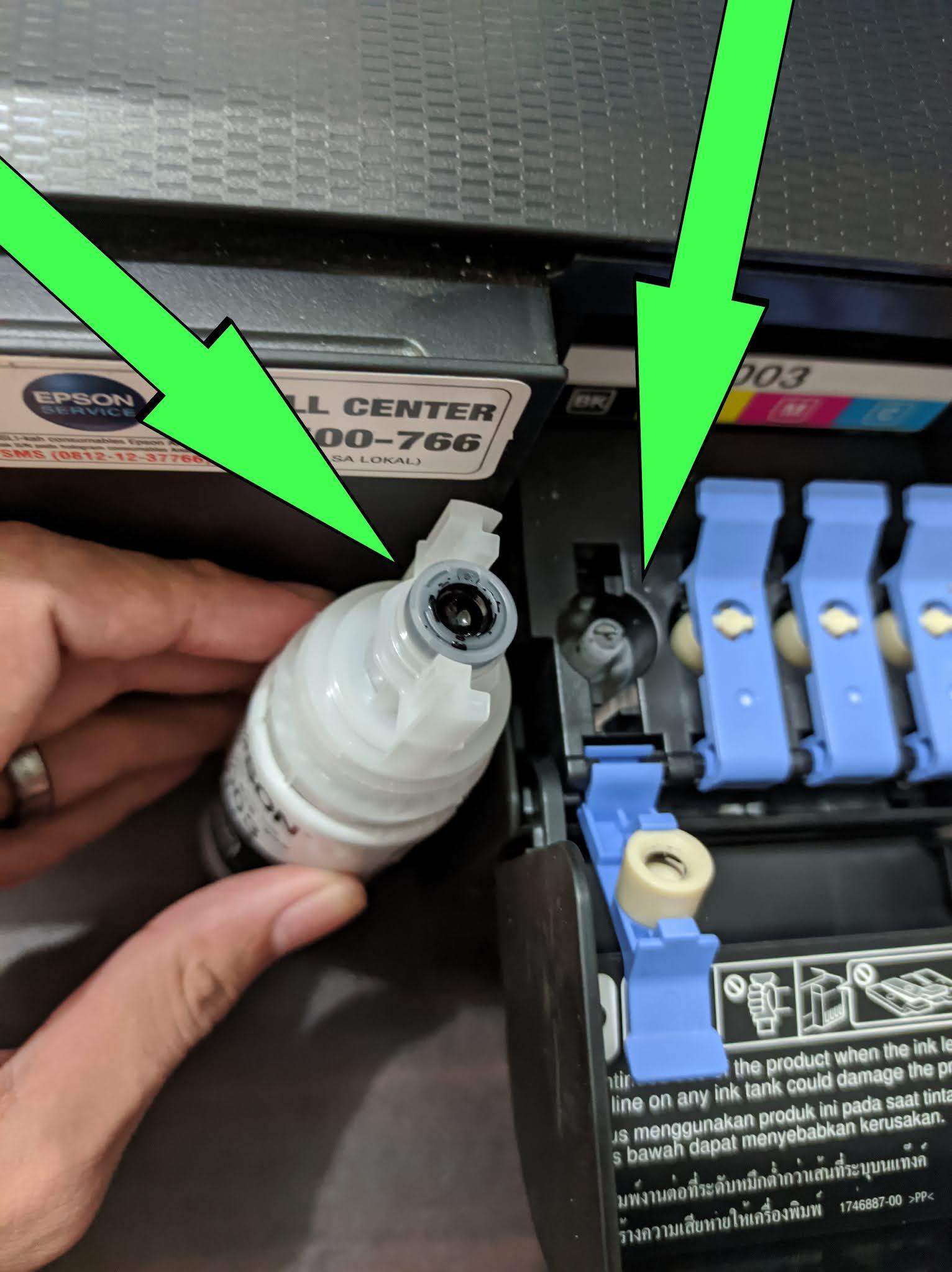 Cara Mengisi Tinta Printer Epson L3110 : mengisi, tinta, printer, epson, l3110, Mengisi, Tinta, Printer, Epson, L3110, Cudil