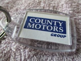 County Motors Group Carlisle Key Fob