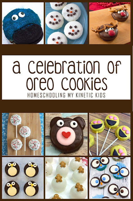 A Celebration of Oreo Cookies // Homeschooling My Kinetic Kids // oreo recipes and learning ideas
