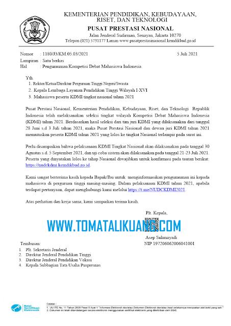 finalis kdmi tingkat nasional tahun 2021 tomatalikuang.com