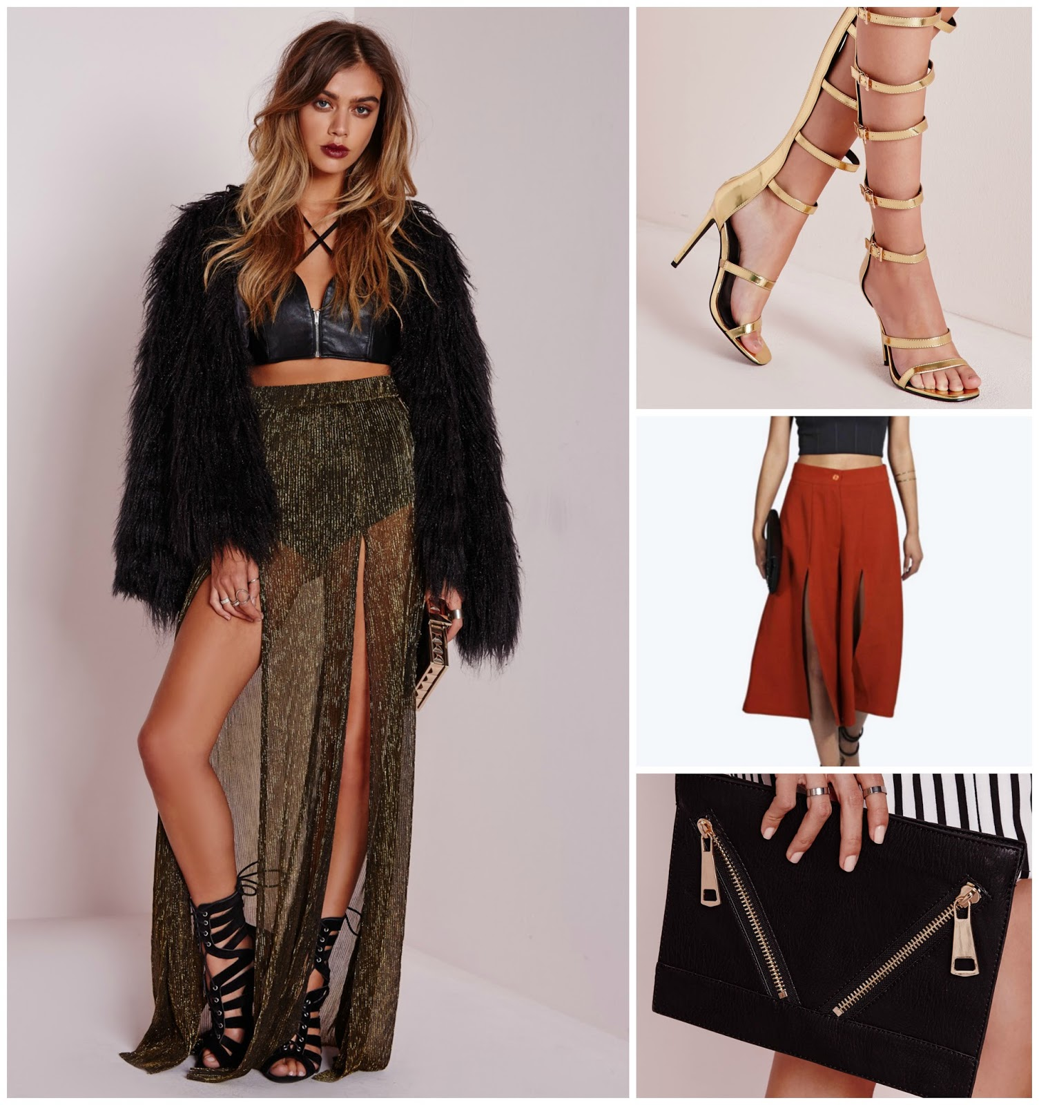 Missguided going out clothes, skirts, gladiator sandles, wishlist, 100 ways to 30