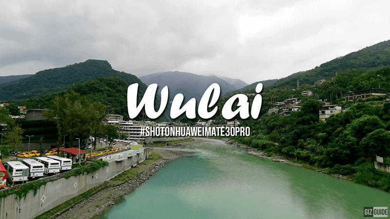 Watch: Wulai, Taiwan VLOG! Shot entirely using Huawei Mate 30 Pro!