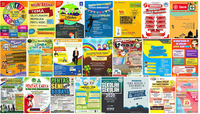 Download Desain Pamflet siap edit