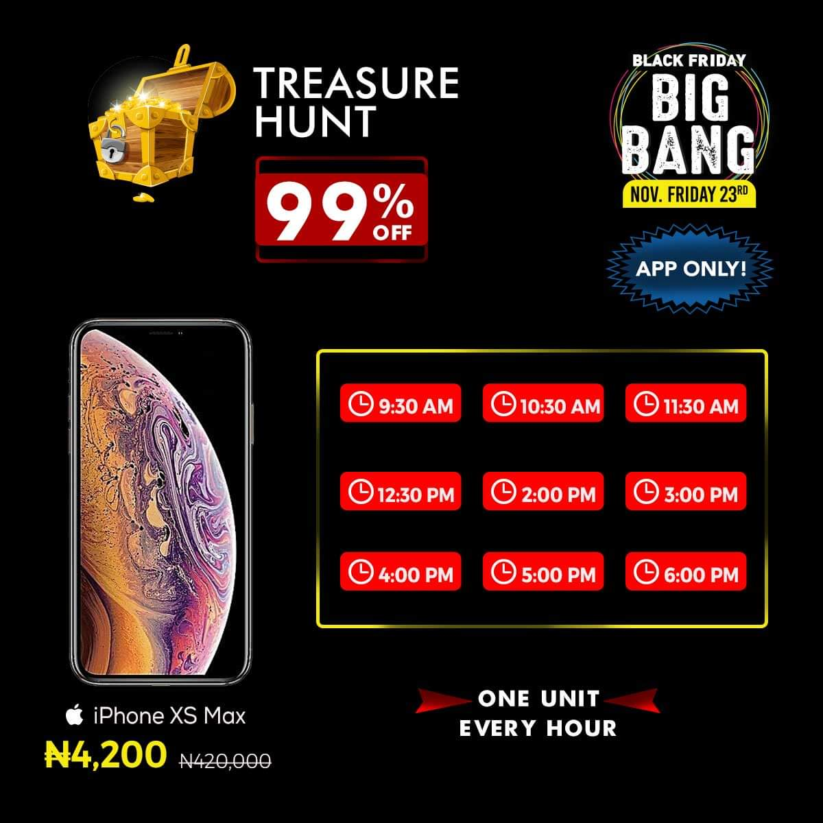 Jumia Black Friday Big Bang Sales