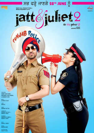Jatt And Juliet 2 2013 BRRip 950MB Punjabi 720p Watch Online Full Movie Download bolly4u