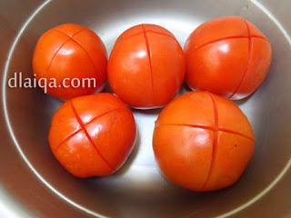 siapkan tomat