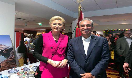 مشاركة متميزة للمغرب في البازار الخيري الدولي بوارسو