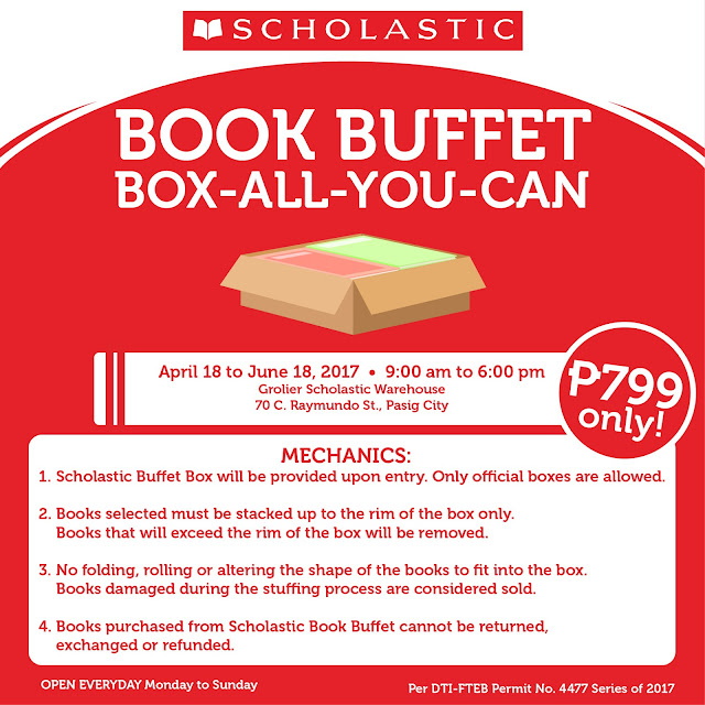 Scholastic Warehouse Sale Summer 2017
