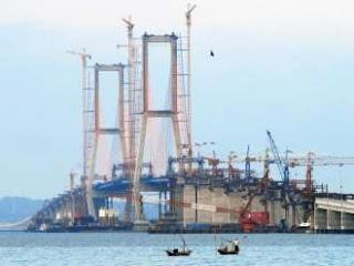 Konstruksi Jembatan Suramadu