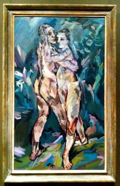 Two nudes (lovers), Oskar Kokoschka, 1913
