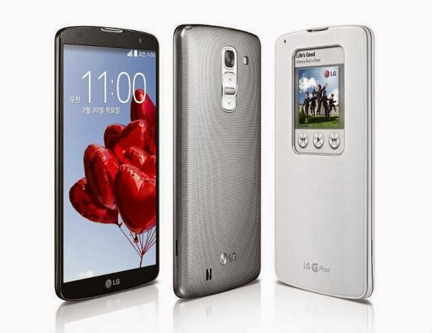 LG G Pro 2 launched with 4k camera,ois camera and knock security feature