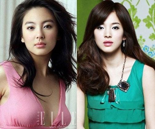 Những sao Hoa - Hàn giống nhau như anh chị em 'thất lạc' - Ảnh 4