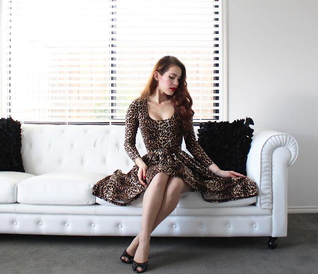 Troublemaker Swing Dress - Vixen by Micheline Pitt