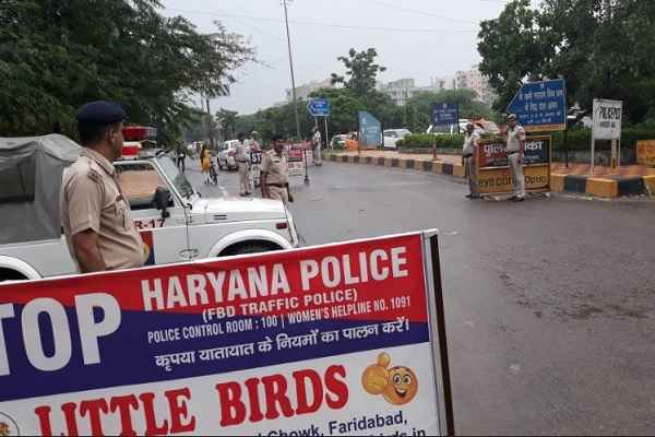 faridabad-police-article-370-removed