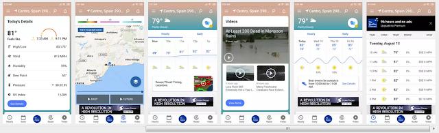 أفضل3 تطبيقات لمعرفة أحوال الطقس للاندرويد_تعرف على أحوال الطقس_تطبيق الطقس_درجة الحرارة