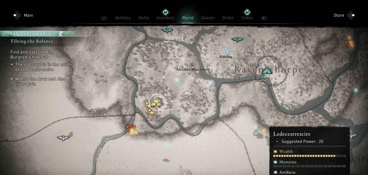 Ingot 26 Map 1