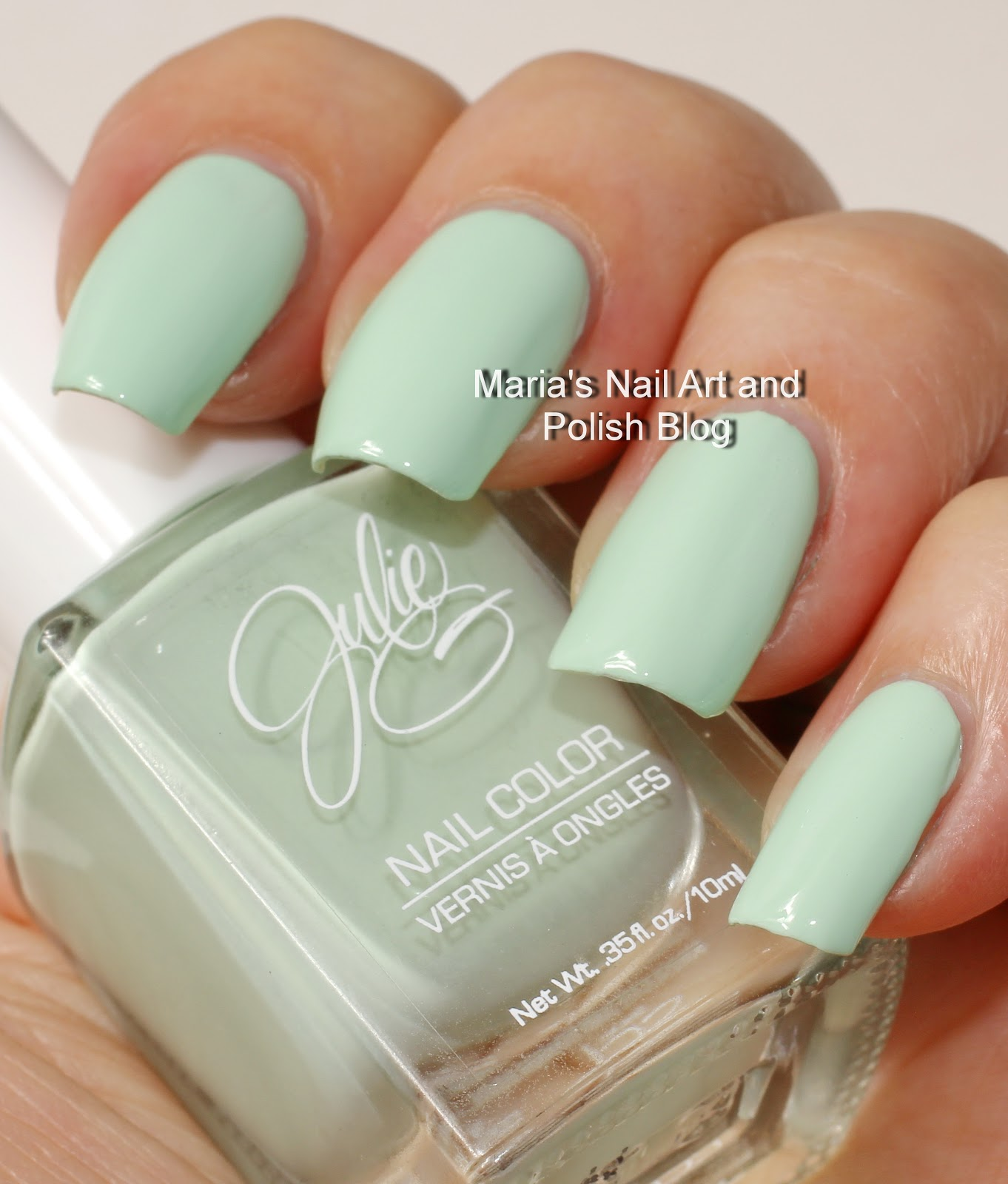 Marias Nail Art And Polish Blog Julie G Swatches Cabana Boy Fairytale And Gelato In Venice